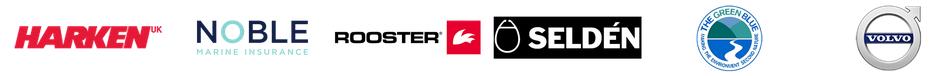RS Aero class sponsor logos